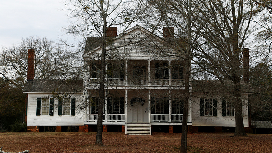 Homestead House at Historic Brattonsville