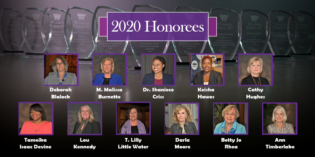 Women Vision 2020 Honorees