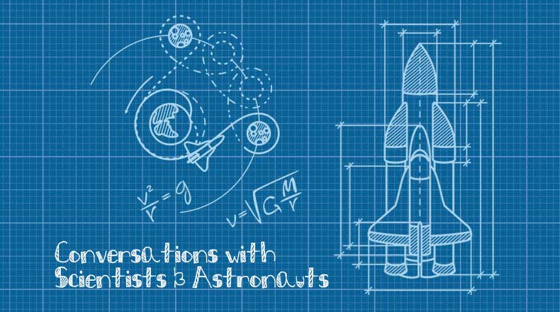 Conversations with Scientists & Astronauts logo