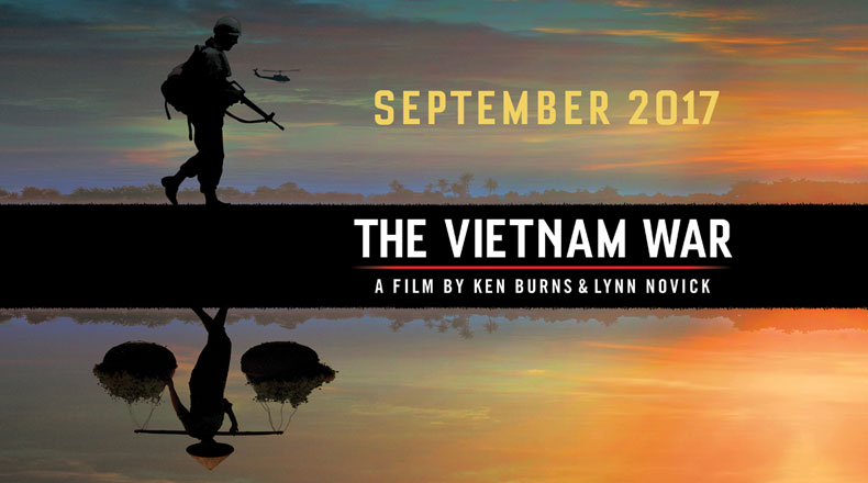 THE VIETNAM WAR  logo